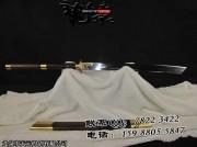 普及版手工包铜康熙战刀|龙泉名刀|清刀|高碳钢|★★