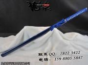 蓝雪直刀|普及版|唐刀|中碳钢|★★|