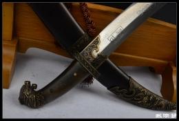 蒙古战刀|花纹钢|★★★
