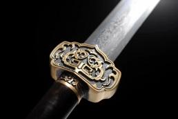至尊如意中款八面汉剑 汉剑 花纹钢